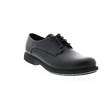 Camper TWS  Mens Black Leather Oxfords & Lace Ups Plain Toe Shoes