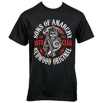 Zonen van Anarchy Redwood Original Moto Club T-Shirt