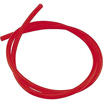 """Helix 140-3801 Transparent Tubing 1/4"""" X 3ft - Red"""