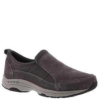 Easy Spirit Womens Trippe Camurça Low Top Pull On Fashion Sneakers
