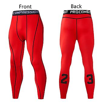 Mannen Compressie Broek Sport Panty Leggings Running Gym Fitness Quick Dry Fit