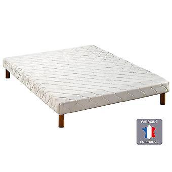 Somier tapizado PLEIN SOMMEIL - 14 laminas -  90 x 190 cm