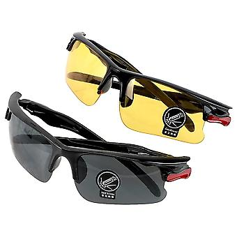 Car Driving Glasses Night-vision, Protective Gears Sunglasses, Goggles