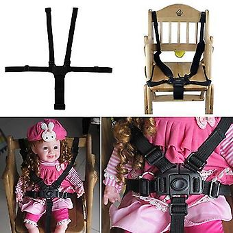5-point Universal, Harness Safe Seat Belts For High Chair, Buggy Belt Stroller