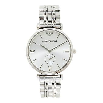Armani AR1819 Emporio Silver Stainless Steel Mens Watch
