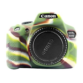 PULUZ Soft Silicone Protective Case for Canon EOS 1300D / 1500D(Camouflage)