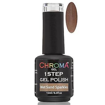 Chroma Gel One Step Gel Polish - Wet Sand Sparkles