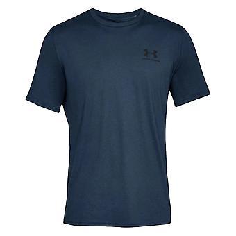 アンダーアーマースポーツスタイル左チェスト1326799408ユニバーサルオールイヤーメンズTシャツ