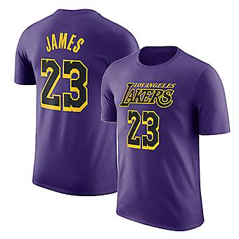 Los Angeles Lakers Short T-shirt Sports Tops 3DX061