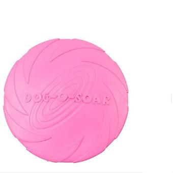 Dog Flying Discs, Trainning Interactive Rubber Fetch Jouet