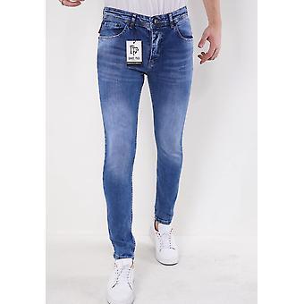 Neat Stretch Jeans - Slim Fit - 5307 - Blue