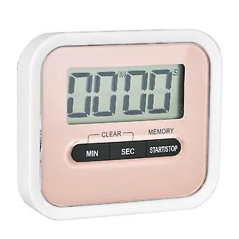 Tekbox Magnetic Kitchen Timer - Pink