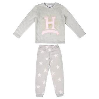 Lapset's Harry Potter Tylypahka Crest Fleece Pyjama Setti