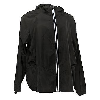 zuda Windrift Packable Relaxed Jacket Plus Black A374950
