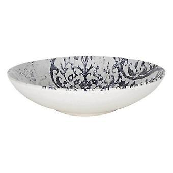 Deep Plate La Mediterránea Horus Monaco Shine Porcelain (ø 21 x 5,3 cm)