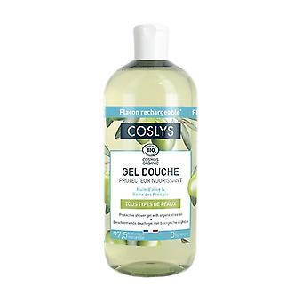 Protective Shower Gel with Olive Oil 500 ml of gel