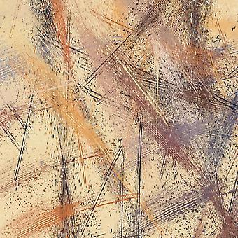 Modern Lines Tapis imprimé multicolore en polyester, coton, L120xP180 cm