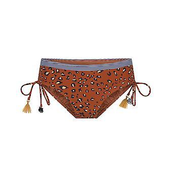 LingaDore Striped Cheetah 6102SH-113 Women's Animal Print Bikini Short