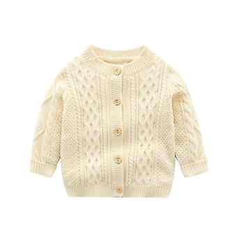 Baby Knit Cardigan Knitted Jacket Long Sleeve Sweaters