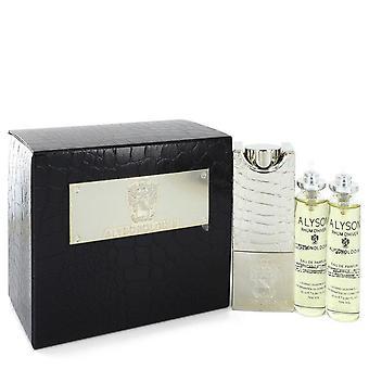 Rhum D'hiver Eau De Parfum Navulbare Spray Bevat 3 x 20ml Navullingen en verstuiver door Alyson Oldoini 2 oz Eau De Parfum Navulbare Spray Bevat 3 x 20ml Navullingen en Verstuiver