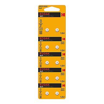Kodak MAX AG12/LR43 Micro batteri