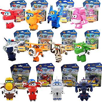 12 Styles Super Wings Action Figure Toy