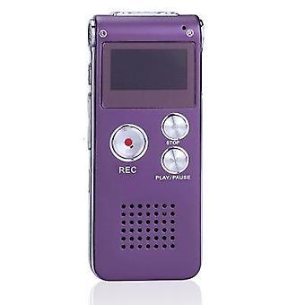 جديد 8g/16g الرقمية مسجل الصوت المهنية الذكية مسجل الصوت mp3 لاعب تشغيل خارجي مسجل الصوت