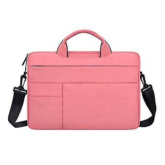 Anki Carrying Case with Strap for Macbook Air Pro - 15.6 inch - Laptop Sleeve Case Cover Pink