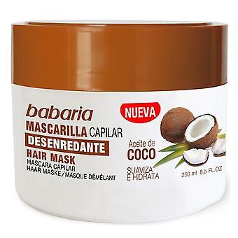 Babaria Entwirrende Haarmaske Kokosnussöl 250 ml