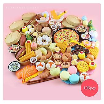 الأطفال محاكاة باخرة الفاكهة Cutie لعب البيت