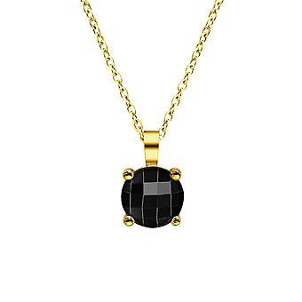 Collar de mujer de joyería Pierre Lannier - Collar dor negro