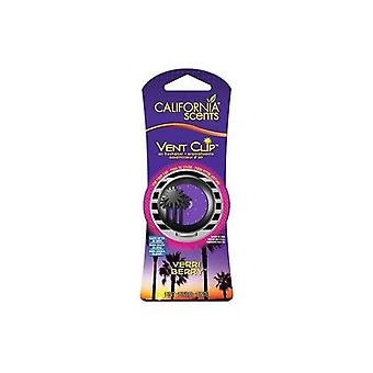 Car Air Freshener California Scents Vent Clip Verry Berry Strawberry
