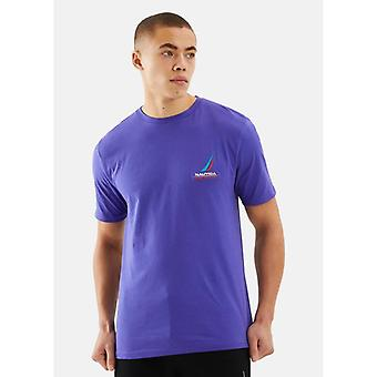 Nautica Competition Dandy T-Shirt - Purple