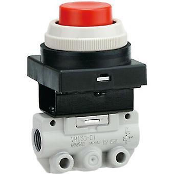 SMC rød knapp (sopp) pneumatiske manuell kontroll ventil, R 1/8 1/8 R
