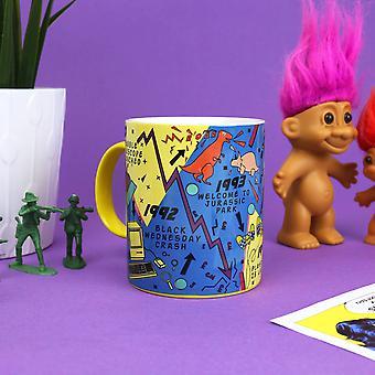 90'S decade mug