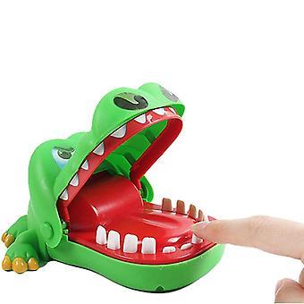 Uskalla laittaa sormi suuhun krokotiili peli