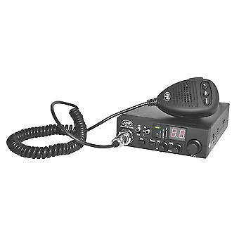 CB PNI Escort radio station HP 8000L with adjustable ASQ, 12V, 4W, Lock, lighter plug included