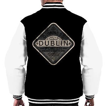 Guinness Porter Patch Men's Varsity Jacket