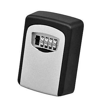 4-numeroinen yhdistelmä avain säilytys lukko laatikko avain varastointi säänkestävä laatikko