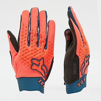 New Fox Men's Defend Gloves Orange