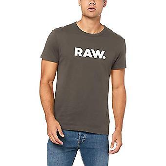 G-STAR RAW Holorn R T S/S T-Shirt, Grey (GS Grey 1260), X-Large Men