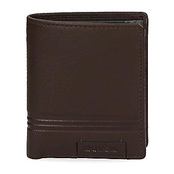 Movom Tablet Vertical Wallet Brown 8.5x10.5x1 cms Leather