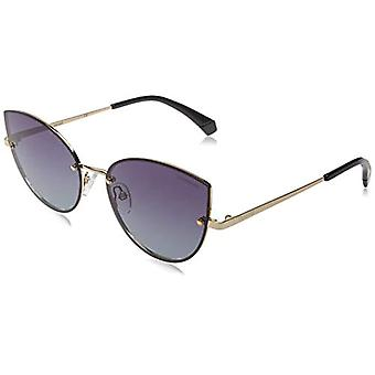 Polaroid PLD 4092/S Sunglasses, Gold Grey, 58 Womens