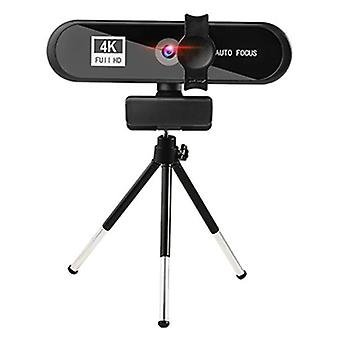 4K PC Webcam Autofocus USB Web Camera with Mic