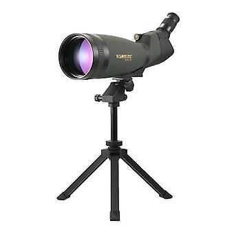 Visionking 30-90x100 Angled Spotting Scope BaK4 Vodotesný Fogproof Height Nastaviteľný prenosný teleskop s monokulárnym ďalekohľadom s statívom Carry Case pre kempovanie na pozorovanie vtákov