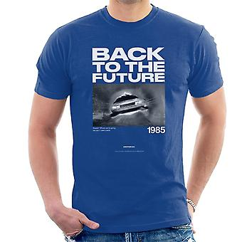 Back to the Future 1985 We Dont Need Roads Heren T-Shirt