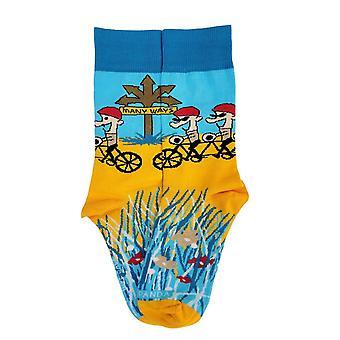 Monin tavoin polkupyörän sukat sukka pandasta (aikuinen pieni)