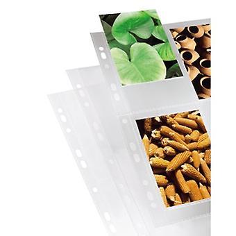 Hama Fotohoezen, DIN A4, 4-8 Foto's in 10x15 cm Formaat, helder, 10 stuks.