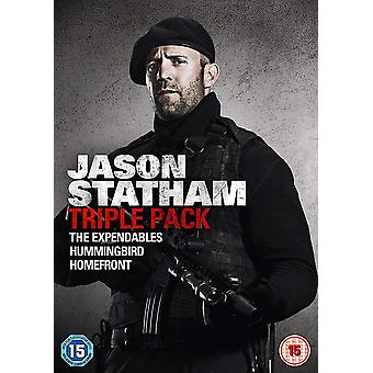 Jason Statham Trippelpaket DVD