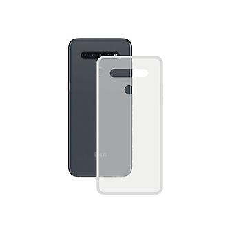 Mobile Abdeckung LG K41S Kontakt TPU Transparent